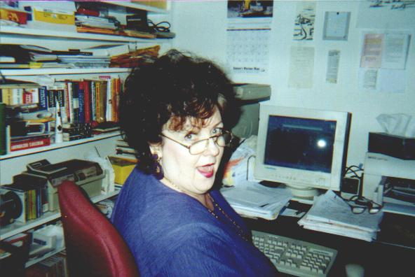 Pat Ballard in her office