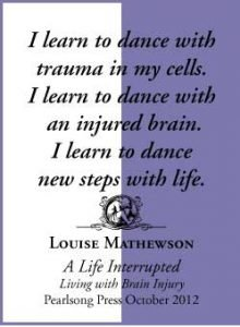 A Life Interrupted Living with Brain Injury by Louise Mathewson quote 7